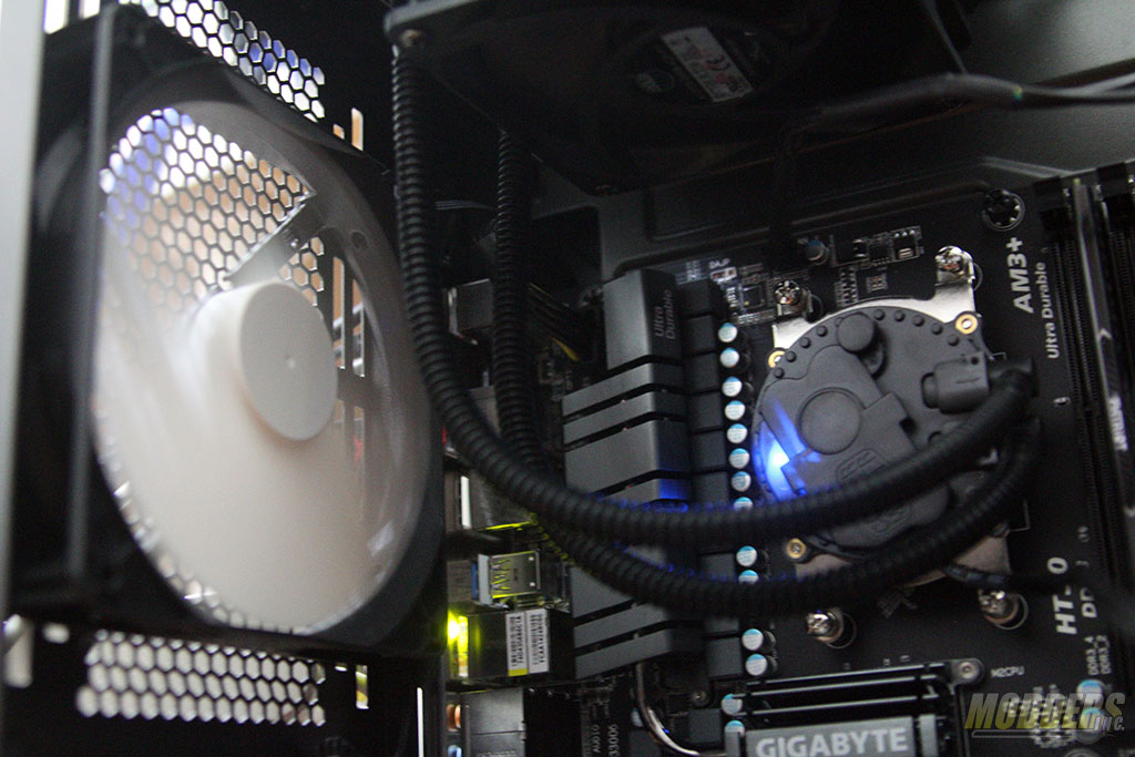 Consider mounting it so the VRM is cooled as well