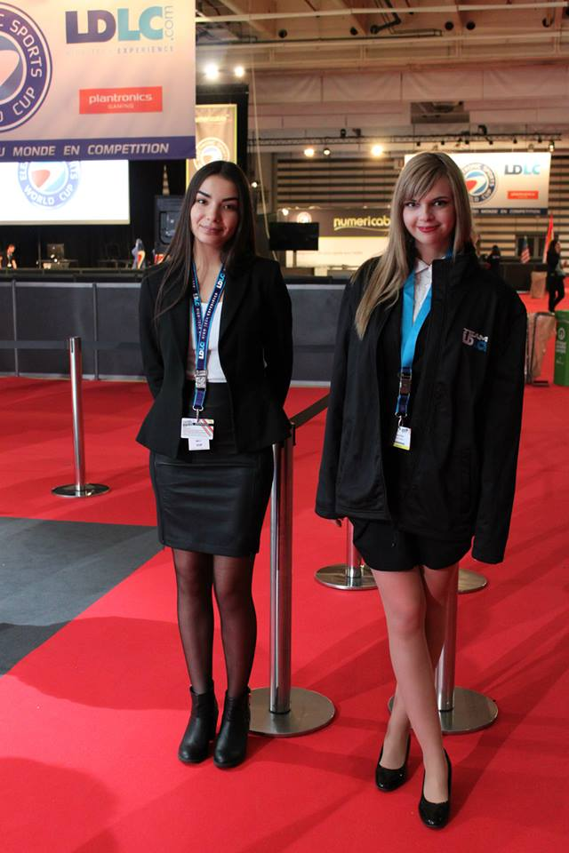 Paris Games Week babes