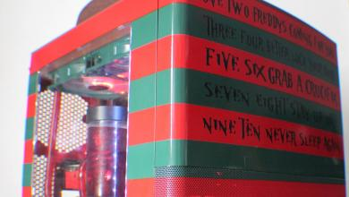 Photo of Freddy Krueger Node 804 Casemod by Nick Blackwell