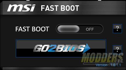MSI Fast Boot