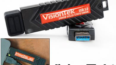 VisionTek Introduces High-Performance Pocket-Sized USB 3.0 Solid State Drives thumb drive, VISIONTEK