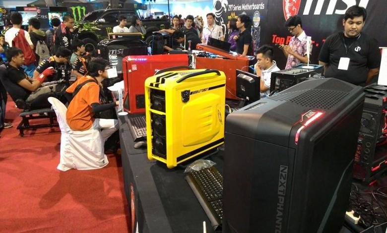 Photo of MSI Rig Modding Reloaded 2014 at ESGS Philippines