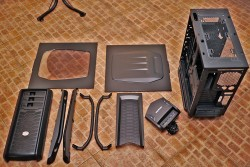 Cosmos II Case Disassembled