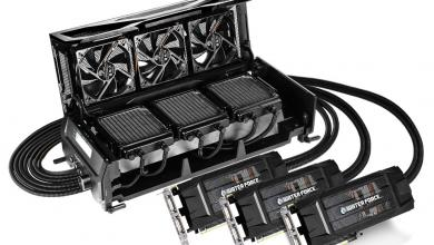 Gigabyte WaterForce TRI-SLI GTX 980