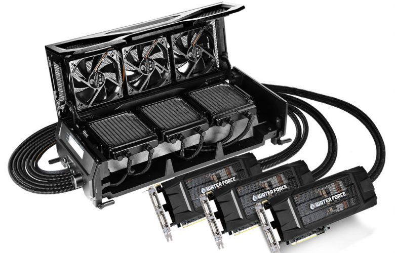 Gigabyte WaterForce TRI-SLI GTX 980