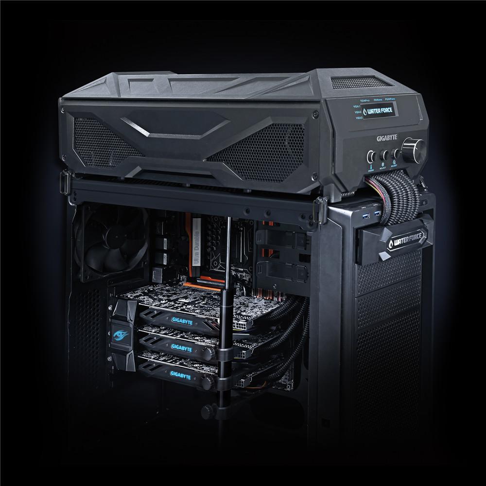Gigabyte Shows-off WaterForce TRI-SLI Video Card Kit GeForce, Gigabyte, gtx 980, Nvidia, tri-sli, waterforce