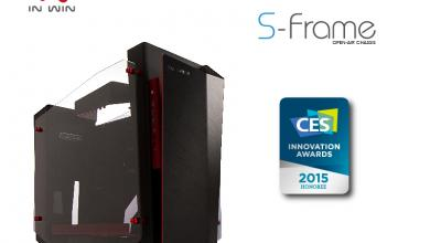 In Win announce that S-Frame and D-Frame mini chassis received 2015 CES Innovation Awards InWin 5