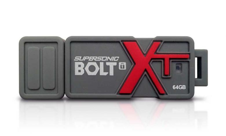 Photo of Patriot Supersonic Bolt XT Secure USB 3.0 Drive Announced