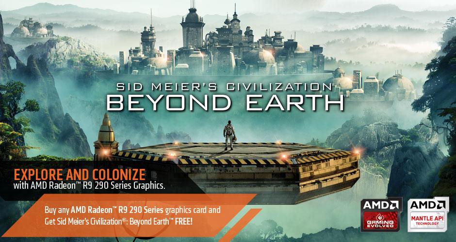 Civilization Beyond Earth AMD Bundle