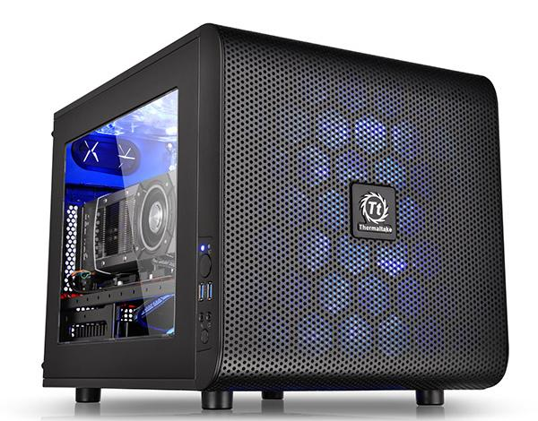 Photo of Thermaltake Core V21 Micro-ATX Stackable Case Now Available
