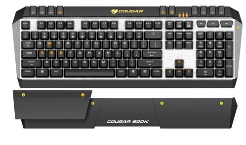 Photo of COUGAR launches 600K Gaming Keyboard