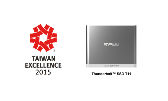 Photo of Silicon Power Received Ten Awards from Taiwan Excellence 2015 for Six Consecutive Years