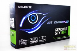 Gigabyte GTX 960 G1 Gaming Video Card Box