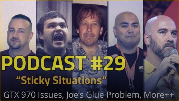 Podcast #29 - Sticky Situations alien, Boddaker, casemods, cosmos cruizer, glue, gtx 970, modding, PDXLAN, podcast, quakecon, ron lee christianson, sticky