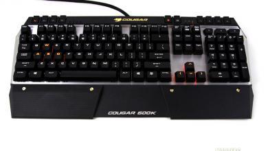 Cougar 600K Gaming Keyboard Review 600K, cherry mx, Cougar, Gaming Keyboard 3