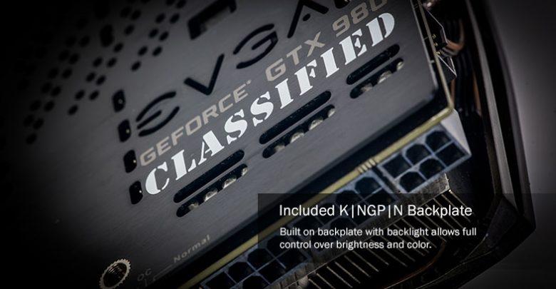Photo of EVGA GeForce GTX980 K|ngp|n Edition Announced