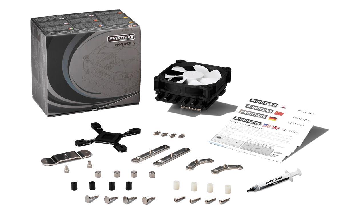 Phanteks PH-TC12LS CPU Cooler Review: Low-Profile, High Value PH TC12LS 6