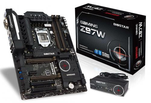 Biostar Gaming Z97W Commander Motherboard