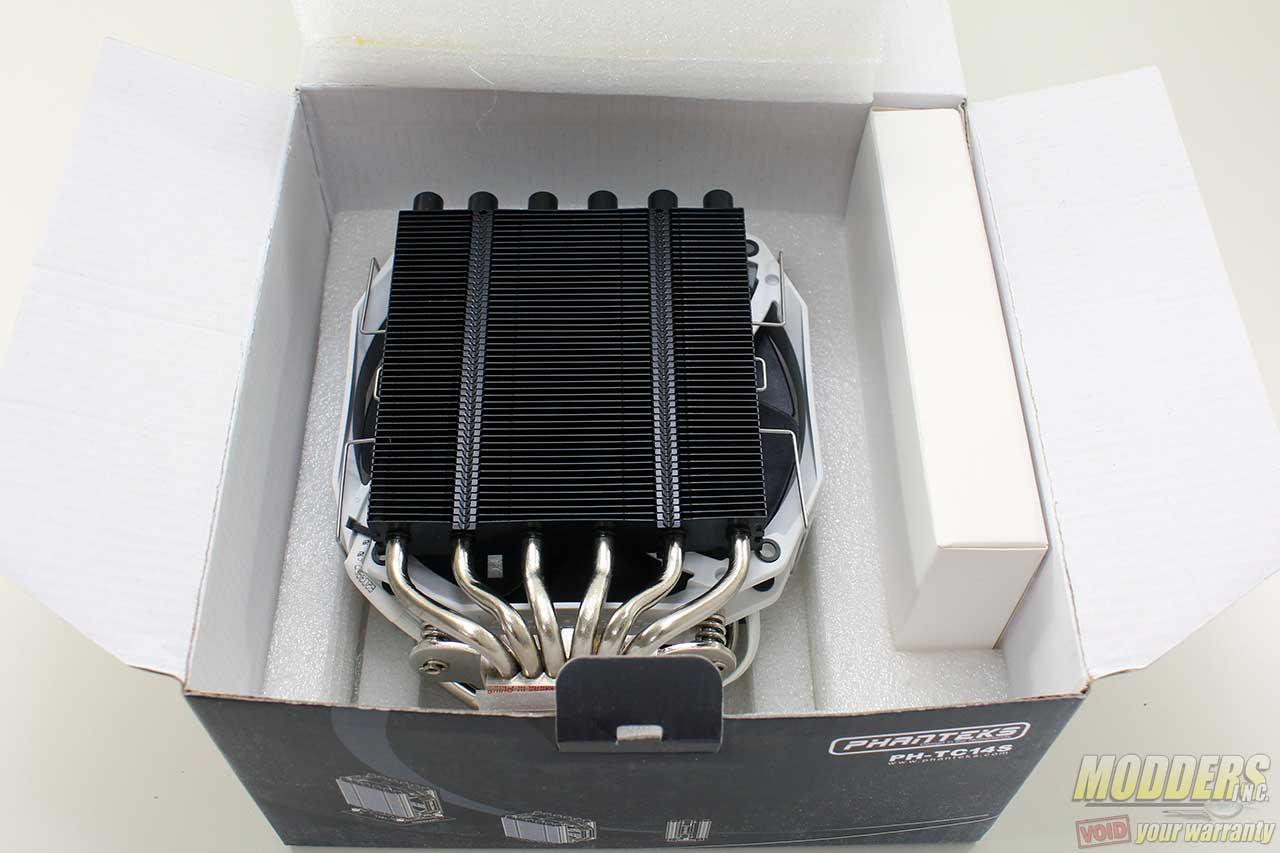 Phanteks PH-TC14S Dual-Tower Review: Conflict-free CPU Cooling? 140mm, CPU Cooler, Phanteks, slim 2