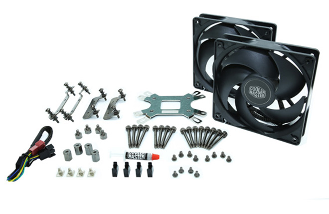 Cooler Master Nepton 240M Review: The Power of Silence 240m, AIO, Cooler, Cooler Master, nepton, radiator 5
