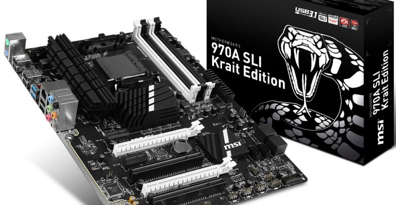 Photo of MSI 970A Krait SLI is World's 1st AMD motherboard featuring USB 3.1