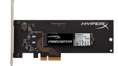 Kingston Announces HyperX Predator PCIe SSD m.2 2
