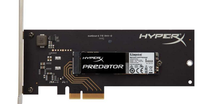 Photo of Kingston Announces HyperX Predator PCIe SSD