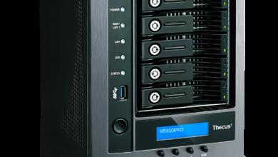 Thecus Announces New Zero-Crash 5-Bay NAS, the N5810PRO n5810 pro, NAS, Storage, Thecus, ups, vpn 1