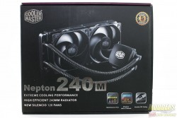 Cooler Master Nepton 240M Review: The Power of Silence 240m, AIO, Cooler, Cooler Master, nepton, radiator 2