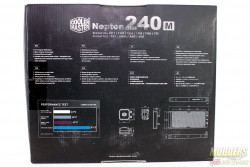 Cooler Master Nepton 240M Review: The Power of Silence 240m, AIO, Cooler, Cooler Master, nepton, radiator 3