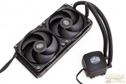 Cooler Master Nepton 240M Review: The Power of Silence 240m, AIO, Cooler, Cooler Master, nepton, radiator 1
