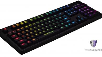 Tesoro Announces the Excalibur Spectrum Mechanical Keyboard: Key-by-Key Customizable Backlighting in North America kailh
