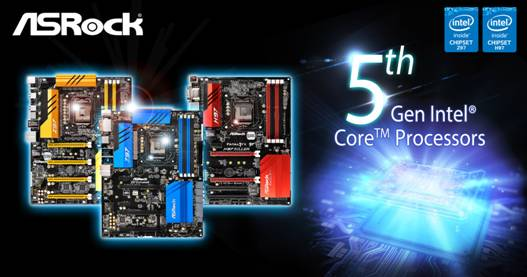 Photo of ASRock's Z97 and H97 Chipset Motherboards Are Ready to Support 5th Gen Intel® Core™ Processors