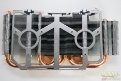 PowerColor R9 285 TurboDuo System Sans Fans (top view)