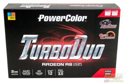 PowerColor R9 285 2GB Turbo Duo Review: It Takes Two to Tonga power color, powercolor, r9 285, Radeon, tonga, tul corporation, Video Card 1