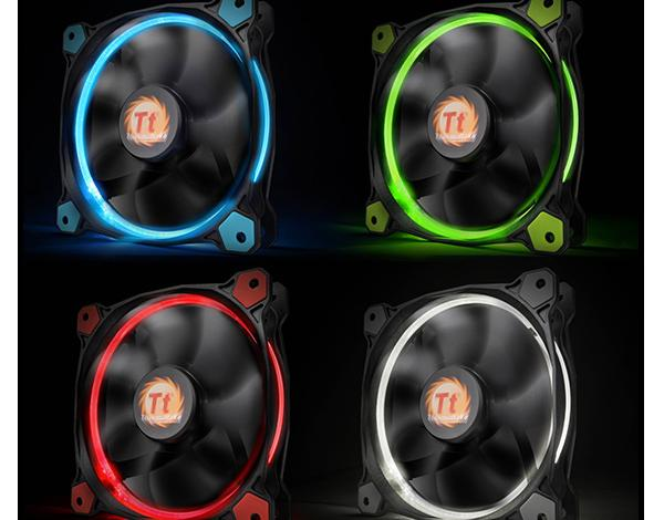 Photo of Thermaltake Launches Riing 12 and 14 LED Radiator Fan Series