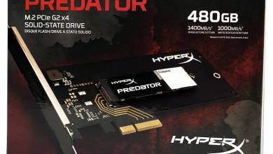 The Kingston HyperX Predator PCIe SSD