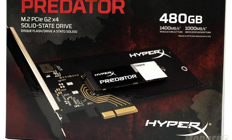 Photo of Kingston HyperX Predator PCIe SSD