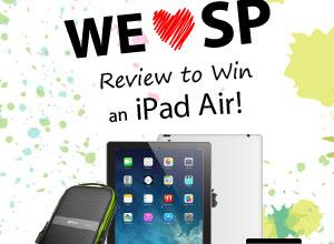 Review a Silicon-Power Product and Win an iPad Air contest, giveaway, Ipad, silicon power 5
