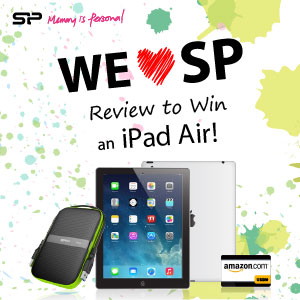 Photo of Review a Silicon-Power Product and Win an iPad Air