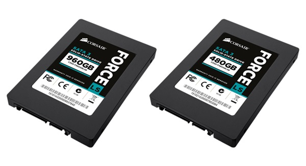 Photo of Corsair Adds 960GB and 480GB Capacities to Force Series LS SSD Line