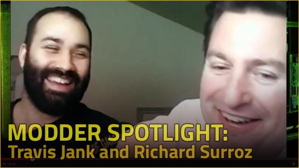 Photo of Modder Spotlight: Travis Jank and Richard Surroz