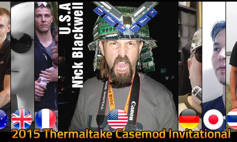 Photo of World's Top Case Modders Go Head to Head at the 2015 Thermaltake CaseMOD Invitational