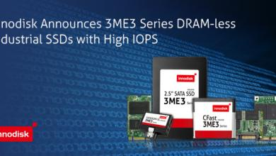 Innodisk Announces Ultra-Reliable DRAM-less SSDs with High IOPS for Embedded Applications (PR) dram-less