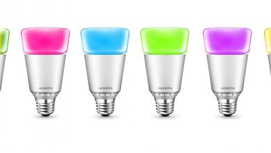 ADATA Unveils a Full Range of Wirelessly Controlled RGB LED Lighting (PR) ADATA, bulb, led, light, rgb