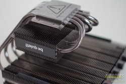 Be Quiet Dark Rock TF Review: Setting the Silent Cooling Standard 135mm, be quiet!, dark rock tf, heatsink. c-type 6