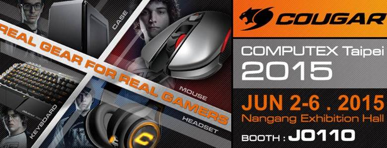 Photo of COUGAR announces presence at Computex 2015 (PR)