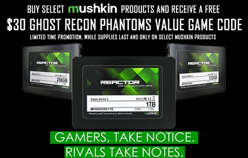Photo of Mushkin Announces REACTOR Series Expansion with UBISOFT's Ghost Recon Phantoms