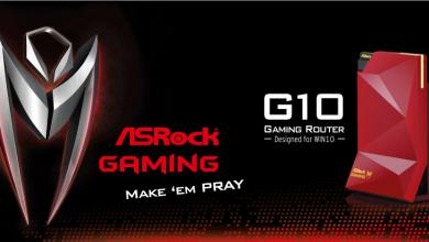 ASRock Gaming Reinvents Routers with G10 (PR) g10