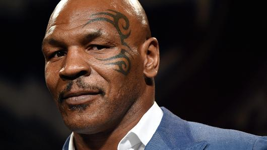 Photo of Mike Tyson apparently entering the bitcoin market